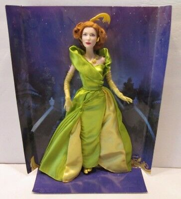 "CINDERELLA Stepmother LADY TREMAINE  DISNEY 11"" DOLL deboxed"