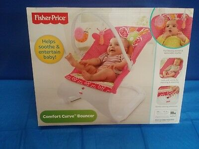 Comfort Curve Infant Bouncer Seat New