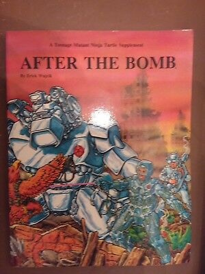 Teenage Mutant Ninja Turtles roleplaying game - After the Bomb