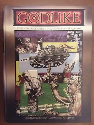 Godlike - Superhero Roleplaying In A World On Fire, 1936-1946