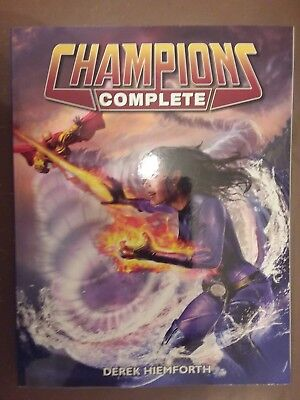 Hero System - Champions Complete superhero roleplaying core book