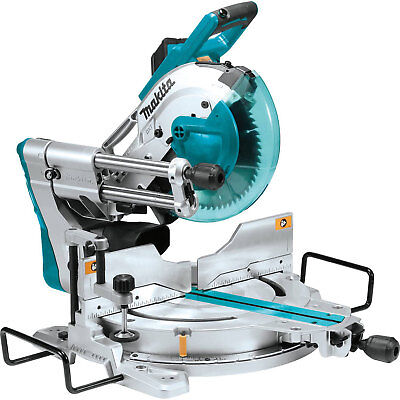 """Makita LS1019L 10"""" Dual-Bevel Sliding Compound Miter Saw With Laser New"""