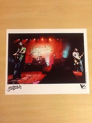 """Signed-Stereophonics-10""""x 8"""" Colour Official V2 Records Photo-Autographed By 2-M"""
