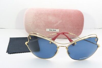 e2c2705b7a MIU MIU ANTIQUE Gold Butterfly Sunglasses MU 56RS - 7OE1V1  NEW ...