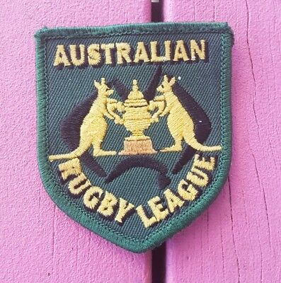 Australian Rugby League Kangaroos Patch