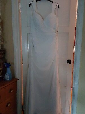 ivory size 16 wedding dress