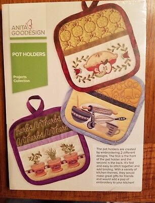 "Anita Goodesign ""pot Holders"" Projects Collection"