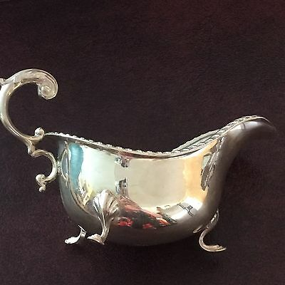 Antique BIRKS STERLING SILVER Gravy Boat 159 grams