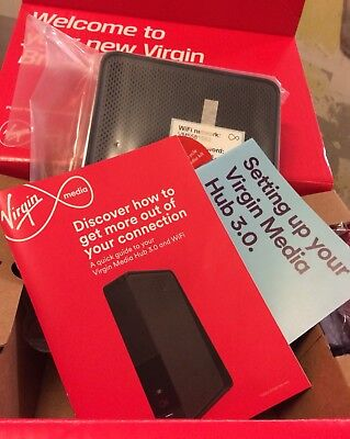 BNIB Virgin Media Super Hub 3.0 Model: VMDG505