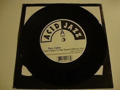 """TERRY CALLIER - I Don't Want To See Myself (Without You) 7"""" Vinyl Rare AJX176S"""