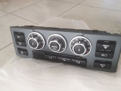 Range Rover L322 Heater AC Control Panel  from 2007 with heated cooled seats