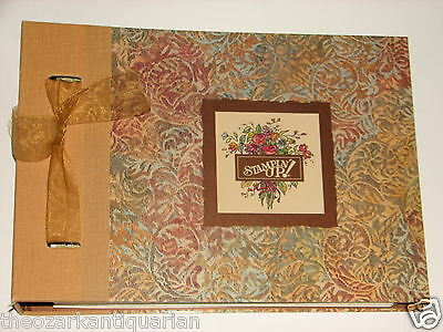 Stampin Up Portfolio Idea Book Catalog 1996-99 Retired Collectible FREE SHIPPING