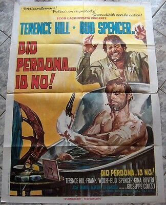 2 sh DIO PERDONA IO NO Django Forgives Trinita Blood River Terence Hill IT 1967