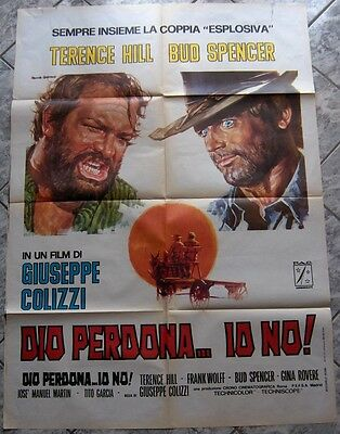 2 sh DIO PERDONA IO NO Django Forgives Trinita Blood River Terence Hill 2°ed1970