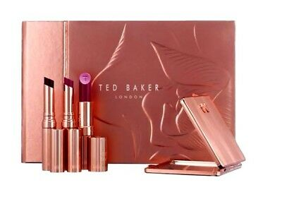 Ted Baker Kissed By A Rose Lipstick Collection CHRISTMAS Gift Collection Set