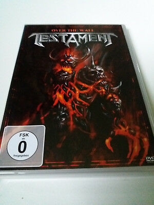 "Testament ""over The Wall"" Dvd"