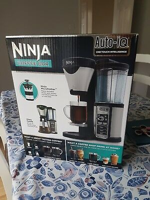 coffee ninja auto iQ coffee bar (brand new unopened)