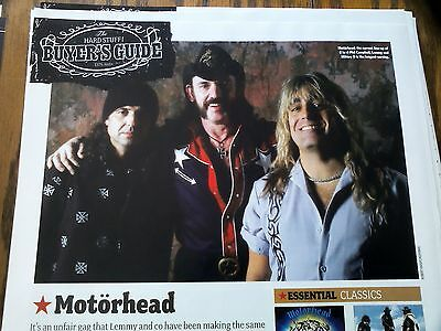 Motorhead Lemmy Buyers Guide Best Albums Single Article Classic Rock Kerrang