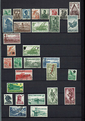 Papua & New Guinea Collection In Davo Stockbook, 720 Stamps