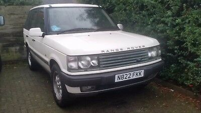 "RANGE ROVER P38, LPG MOT 2018 BeCM PROBS 4.6 V8 ENGINE 18"" TYRES spares repairs"
