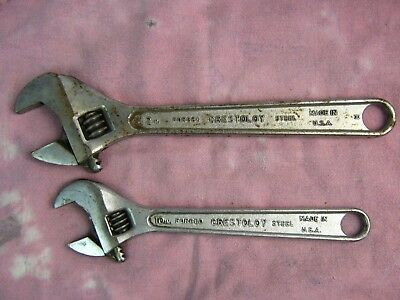 Crescent ® Tool Adjustable Wrench Lot