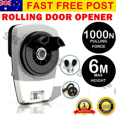 Automatic Roller Door Opener eGarage Powerful 1000N Motor Garage 22m2 Rolling
