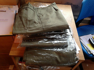 Job Lot of Four Brand New Army Surplus Trousers