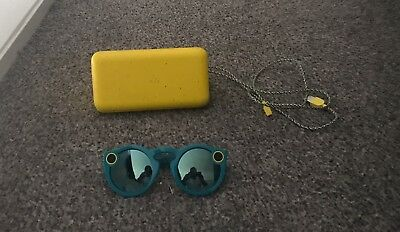 snapchat spectacles - blue