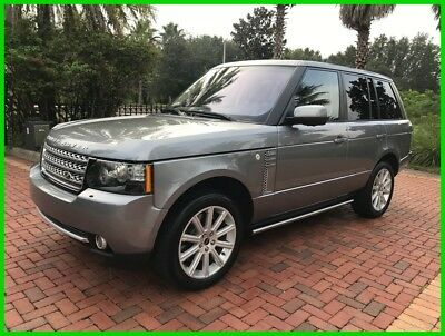 2012 Land Rover Range Rover Supercharged 2012 Supercharged Used 5L V8 32V Automatic 4WD SUV Premium