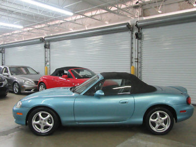 2002 Mazda MX-5 Miata 2dr Convertible LS 5-Speed Manual 45000 MILES CLEAN CARFAX NONSMOKER FLORIDA CAR EXTENSIVE HISTORY STUNNING CAR