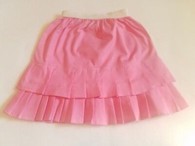 Pink Fluff Skirt size 24M 2T made of cotton blend