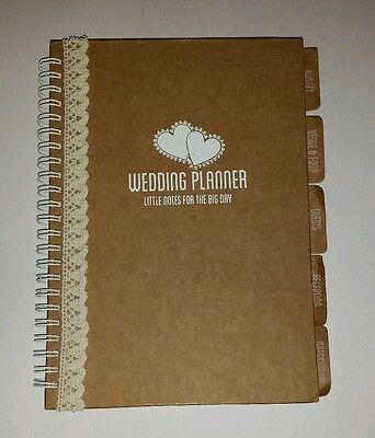 Personalised Hand Decorated Wedding Planner