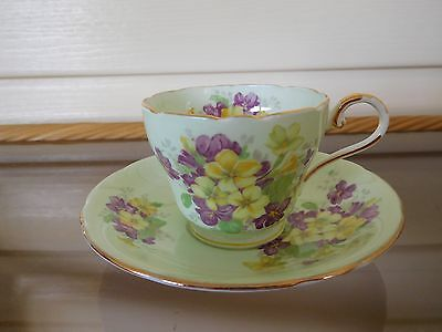 Aynsley Demitassie Coffee Tea Cup Saucer C 961/1 Made In England 1930s