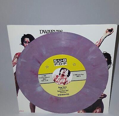 Dwarves Drugstore PURPLE VINYL Sub Pop Grunge Nirvana Mudhoney Rare Punk Helmet