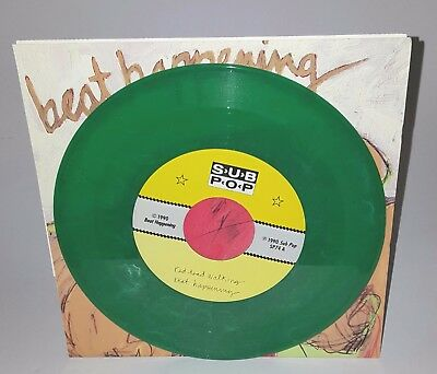Beat Happening Red Head Walking GREEN VINYL Sub Pop Grunge Nirvana Mudhoney Rare