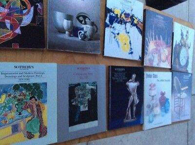 Lot of 10 Sotheby's And Others Contemporary Art Catalogues