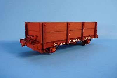 On3/on30 Silver City Models D&rgw 1872 17' 4 Wheel Gondola Car Kit