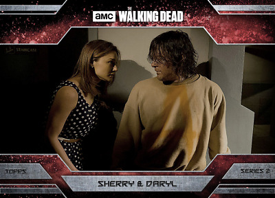 Topps Walking Dead Allegiance Series 2 Daryl Dixon and Sherry MAGMA 100cc