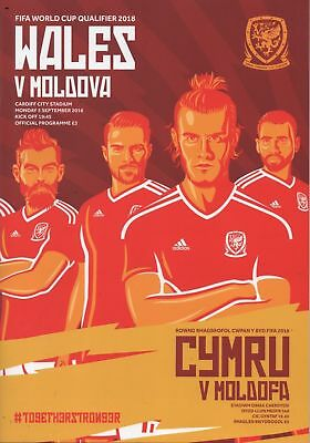 Wales v Moldova 2016 Programme - New condition