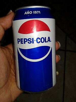 Puerto Rico Pepsi Cola 1971 Limited Edition Retro Can New! Hard to Find!