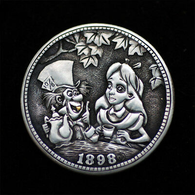 Hobo Nickel Barber Liberty Head  Silver Quarter # HN17-120  by David HJ He
