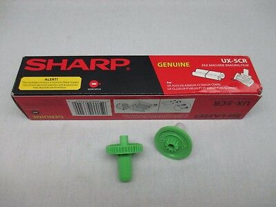 NEW IN BOX Sharp GENUINE Replacement Fax Machine Imaging Film UX-5CR +Rollers