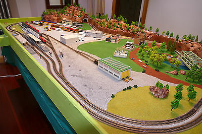 The Ultimate Peco N Gauge Railway DCC Layout