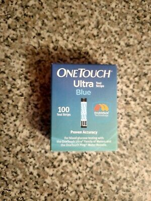 100! ONE TOUCH ULTRA BLUE TEST STRIPS  Exp. 02/28/2019