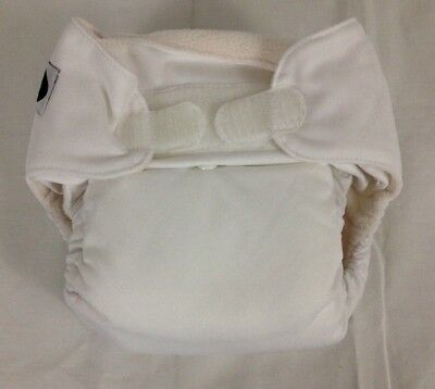Imagine Baby Products Pocket Hook and Loop Diaper, Snow 100% Polyester