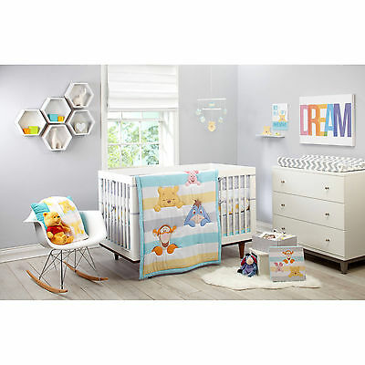 Disney Winnie The Pooh - Together Forever 9 Piece crib bedding  complete set