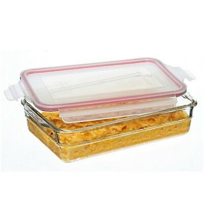 Glasslock Tempered Glass Baking Dish Oven Safe 2.2L
