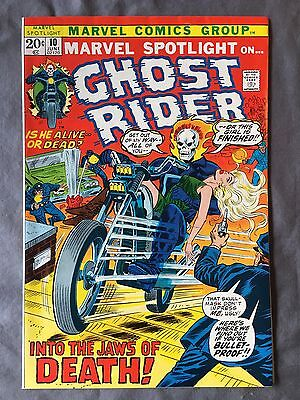 Ghost Rider #10 Very High Grade! VF+/NM. Awesome Cover!