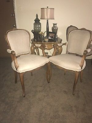 2 French Arm Chairs