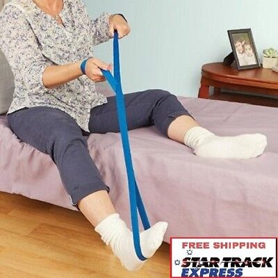 Leg Lifter Dual Handle Homecraft - Mobility Aids For Lowering or Lifting Legs
